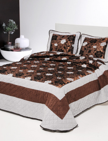 COLCHA BOUTI PATCHWORK CASSIS