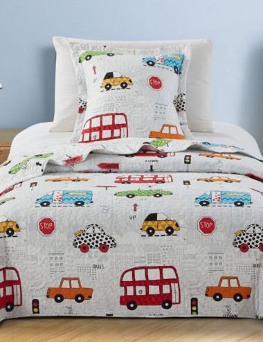 COLCHA BOUTI INFANTIL CARS